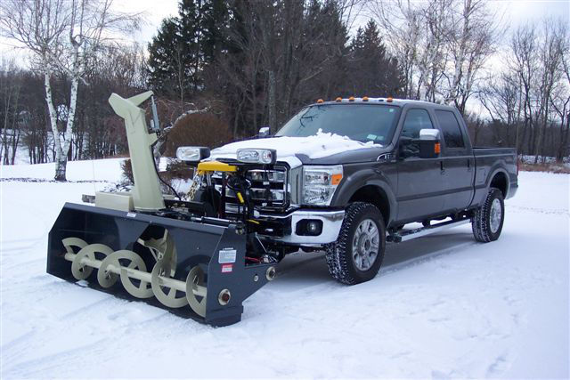 Snowvac Front Mounted Snowblowers Fits On Arctic Fisher