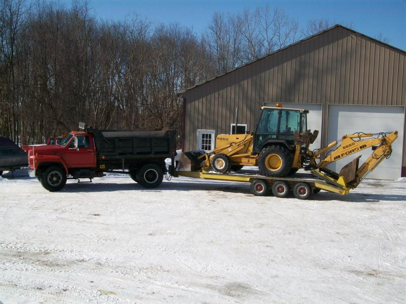 What heavy equipment do u have page 4 plowsite here is my snow plower snow stacker dirt digger graval grader topsoil mulch loader publicscrutiny Images