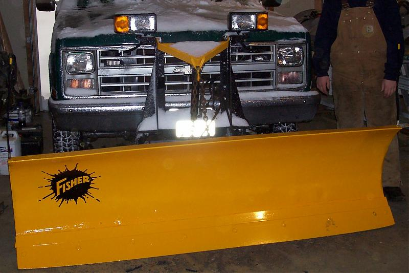 Pre Minute-Mount Fisher Plow Pics! | PlowSite
