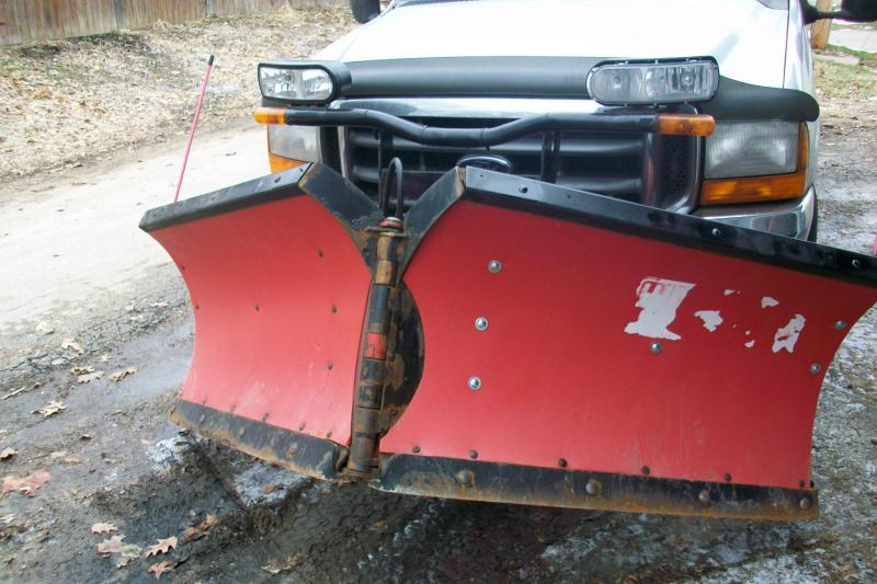For Sale 8 2 Boss Poly V Plow Plowsite