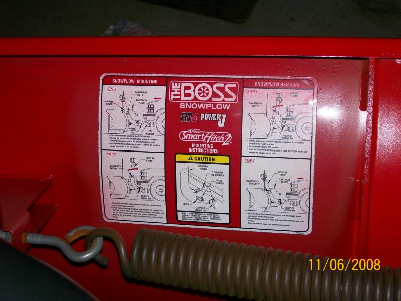 boss 7 6 u0026quot  v plow smart hitch 2 for sale plowsite