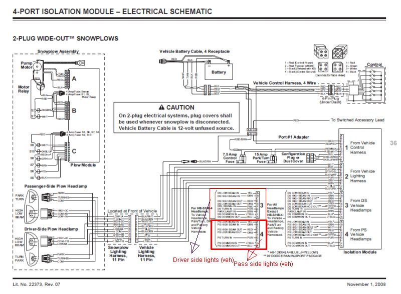 on 4 port fisher wiring diagram
