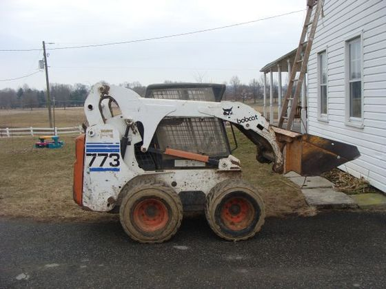What was a Bobcat 773 replaced by | PlowSite