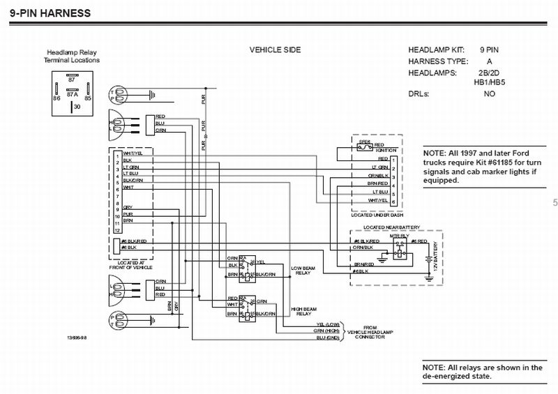 Ford Western Plow Wiring Diagram