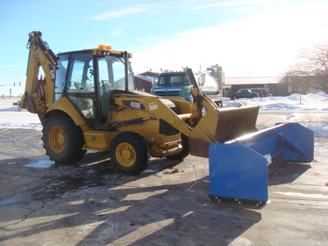 Backhoe and Pusher 003.JPG