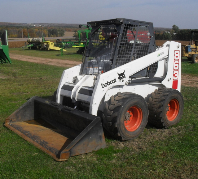 bobcat f series 1 small.jpg & Skid Steer Doors and enclosures. All Lexan construction ...