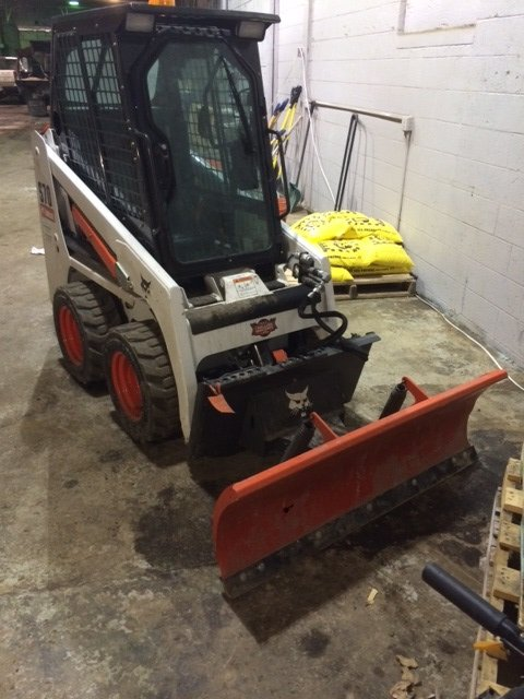 Looking for ideas!! My Bobcat S70 Skid steer plow is too small IMO ...