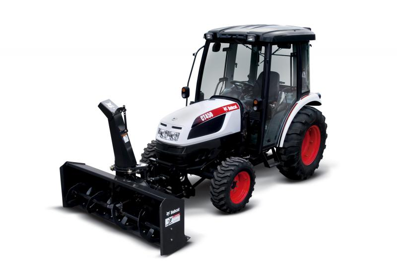 Front mounted 72 inch snowblower now available for bobcat for Bobcat blower motor replacement