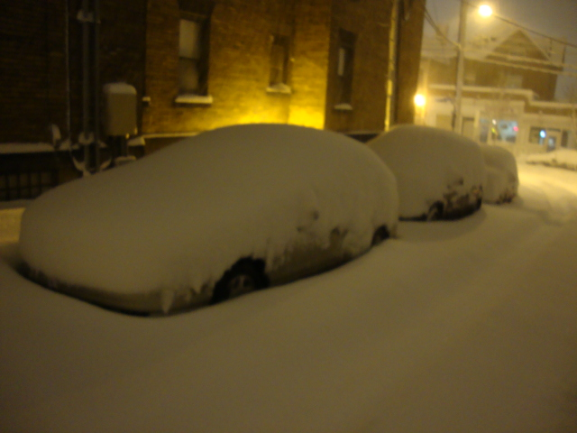 cars covered at uncle pauls.JPG