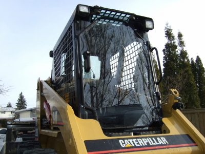 Skid Steer Doors And Enclosures Are You Sweeping Without