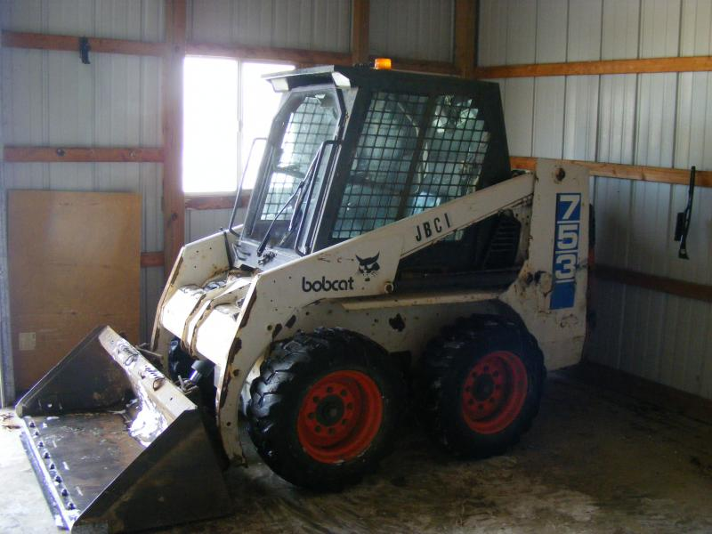 98 Bobcat 753 W/cab and heat | PlowSite