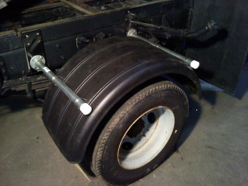 Poly Fenders Dually Trucks : Poly fenders on a f  plowsite