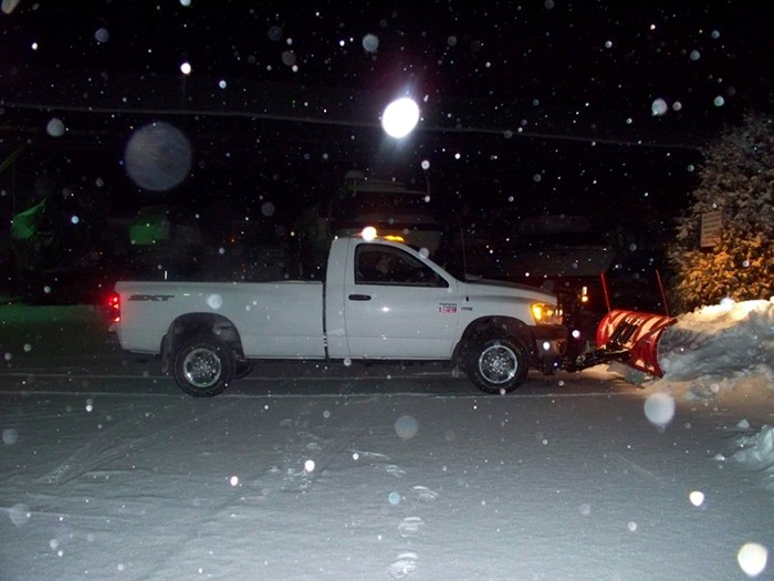 First Push with my New Truck and Plow 013b.JPG
