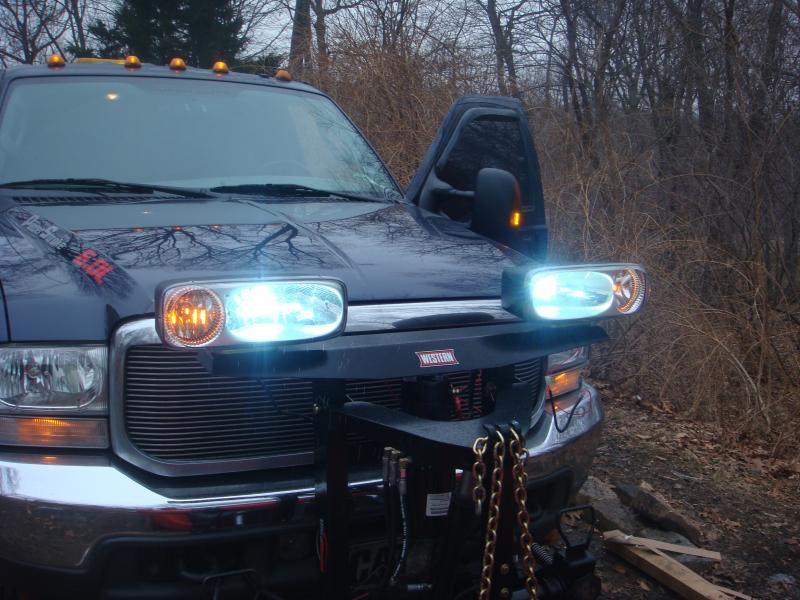 Beautiful Western Plow Headlights Inspiration - Electrical and ...
