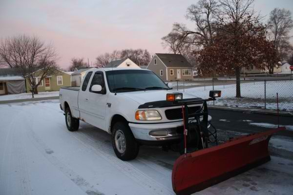 Boss 7.5 ft straight blade Ford F150 mount RT3 | PlowSite Boss Rt Wiring Harness on boss plow truck side wiring, boss snow plow installation wiring, boss plow wiring kits, dual car stereo wire harness,