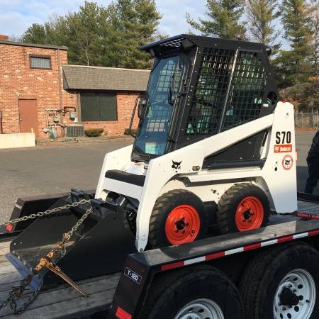 Bobcat s70 with Snowblower | PlowSite