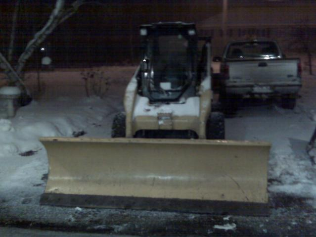 Homemade Skid Steer Blade and QA specs