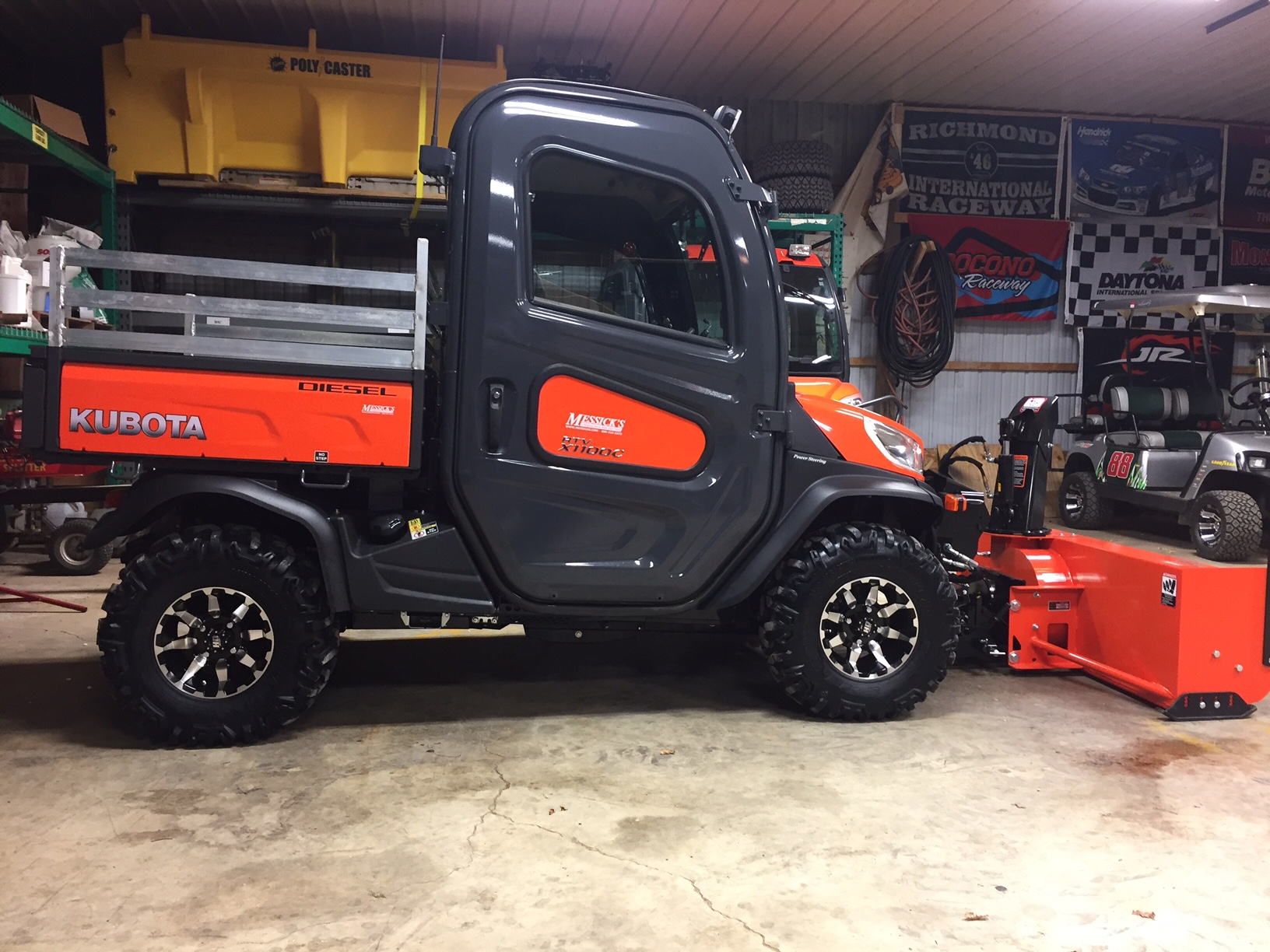 Kubota RTV X1100C with K-Connect | PlowSite