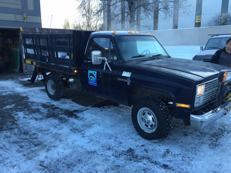 New Old Chevy K30 Plow Truck | PlowSite