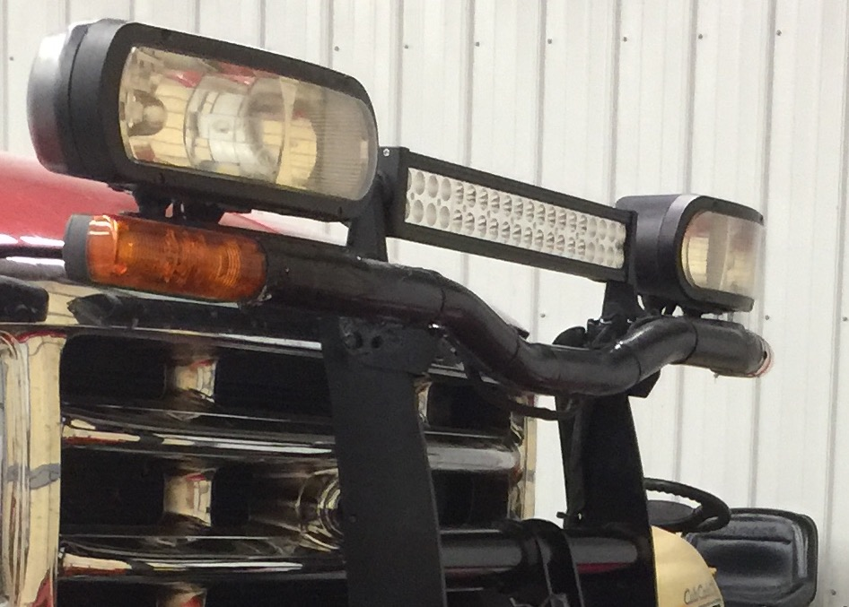 Boss Plow Lights Hid Or Led Plowsite