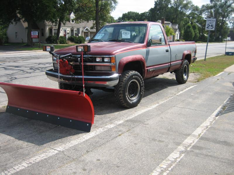 Plow Trucks For Sale >> Cheap Plow Truck For Sale 89 3 4 Ton Chevy Plowsite