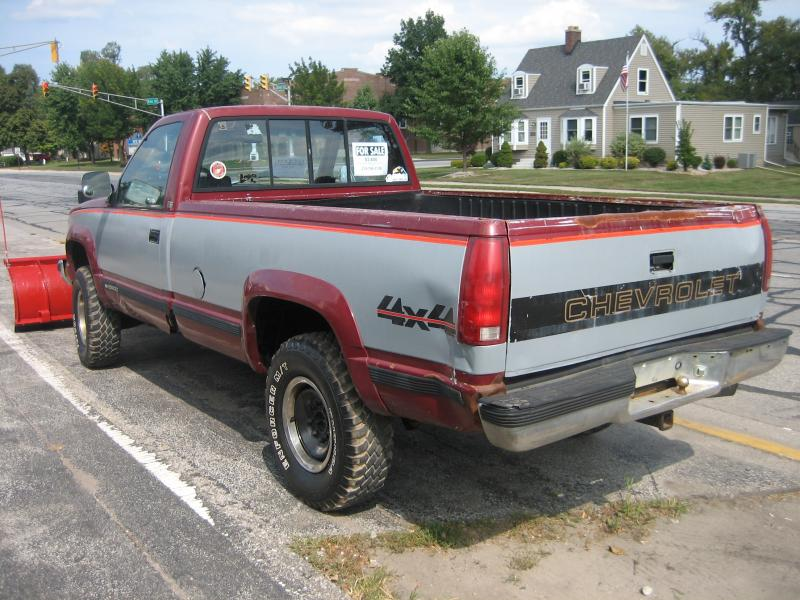 Cheap Plow Truck For Sale 89 3 4 Ton Chevy Plowsite