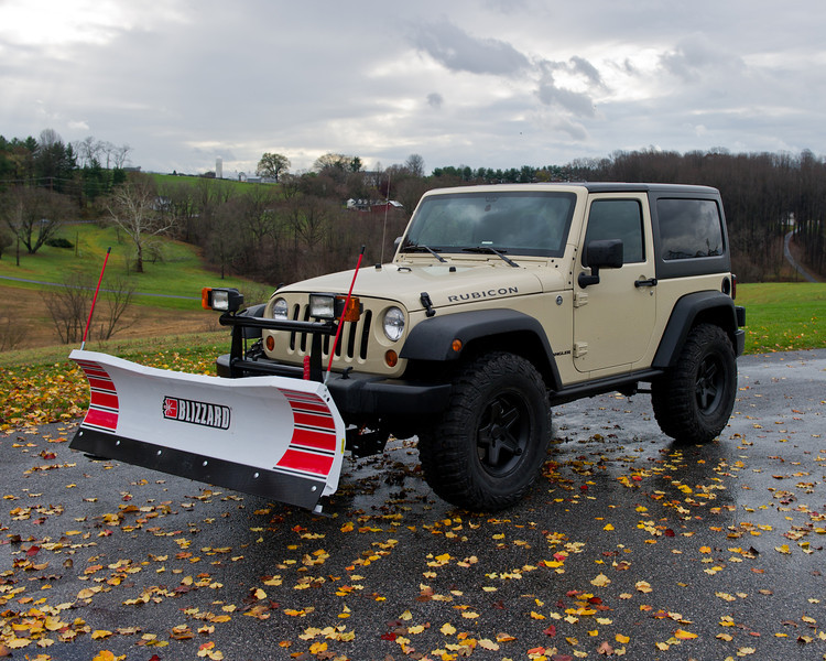 Trucks For Sale In Mn >> Wrangler with a Blizzard plow | PlowSite