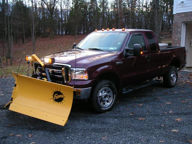 new truck and plow (Small).JPG