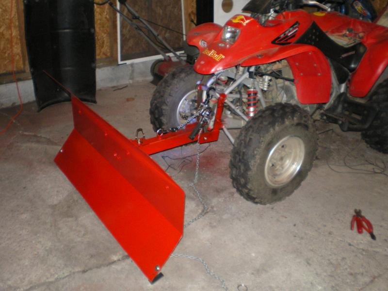 Lets See You Home Made Atv Blades Plowsite
