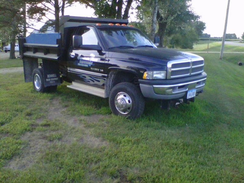 For Sale 2001 Dodge Ram 3500 4x4 Dump Truck Plowsite
