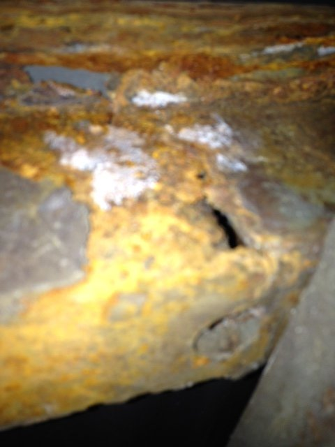 05 F250 bed mount supports rusty HELP | PlowSite