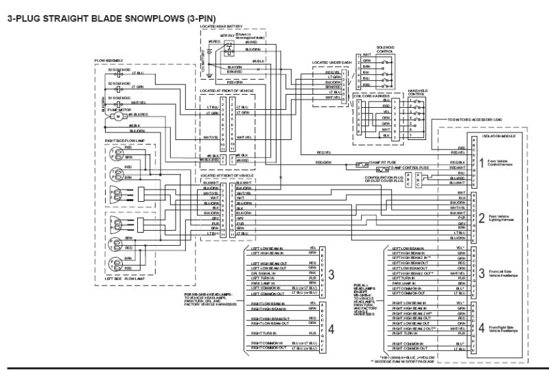 western 4 port isolation module wiring diagram   46 wiring