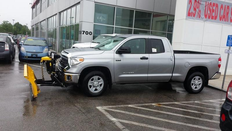 2014 Toyota Tundra 5 7l Dc With 7 6 Quot Fisher Plowsite