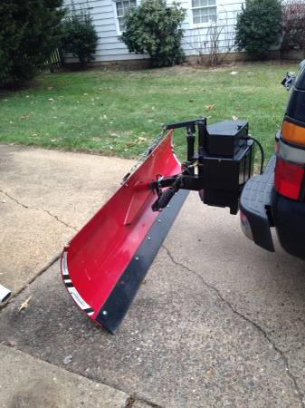 For Sale Ezplow Rear Hitch Receiver Mounted 8 Ft