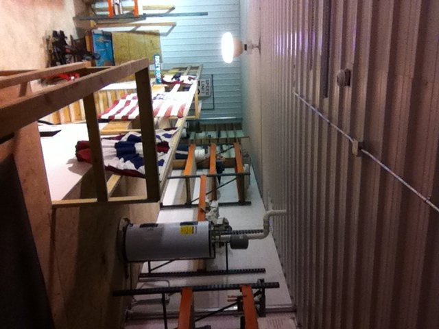 View of upstairs storage area at shop.JPG